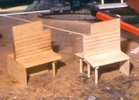 modellbau beizen von holzteilen eisenbahnmodelltechnik. Black Bedroom Furniture Sets. Home Design Ideas